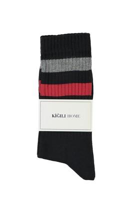 Erkek Giyim - SİYAH 40-44 Beden Spor Çorap