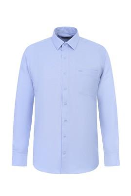 Erkek Giyim - UÇUK MAVİ 3X Beden Uzun Kol Klasik Gömlek