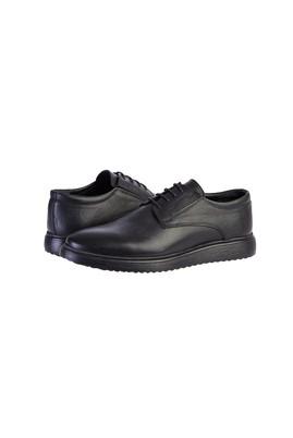 Erkek Giyim - SİYAH 45 Beden Casual Bağcıklı Ayakkabı