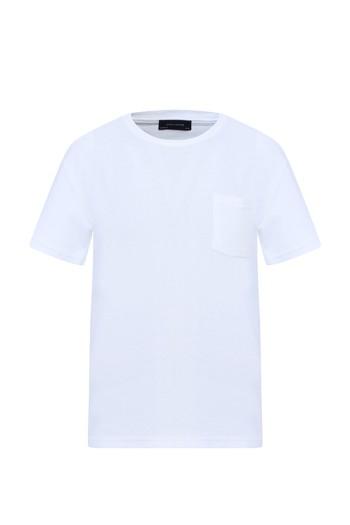 Erkek Giyim - Bisiklet Yaka Tişört