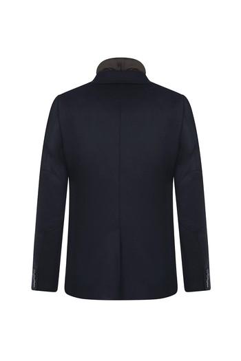 Erkek Giyim - Dik Yaka Slim Fit Ceket