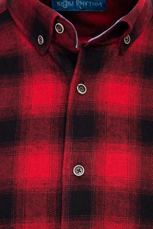 Uzun Kol Ekose Oduncu Gömlek