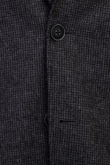 Erkek Giyim - Regular Fit Örme Ceket