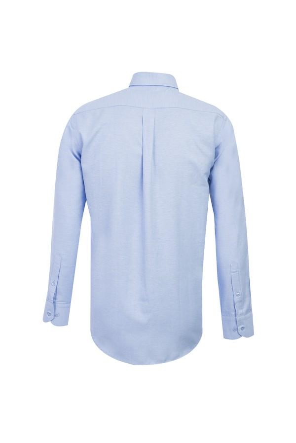 Uzun Kol Regular Fit Oxford Gömlek