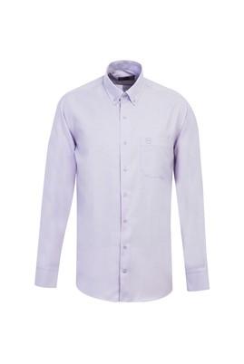 Erkek Giyim - LİLA L Beden Uzun Kol Oxford Gömlek