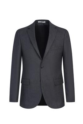 Erkek Giyim - AÇIK SİYAH 52 Beden Klasik Ceket