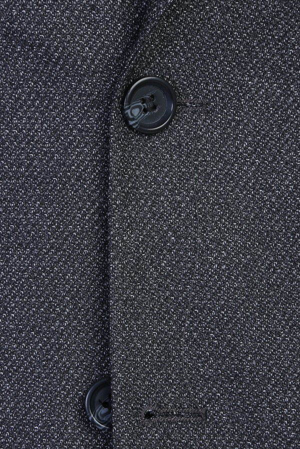 Slim Fit Desenli Ceket