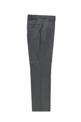 Erkek Giyim - ORTA FÜME 50 Beden Klasik Yünlü Pantolon