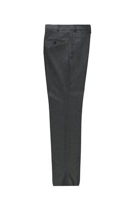 Erkek Giyim - KOYU FÜME 56 Beden Slim Fit Klasik Pantolon