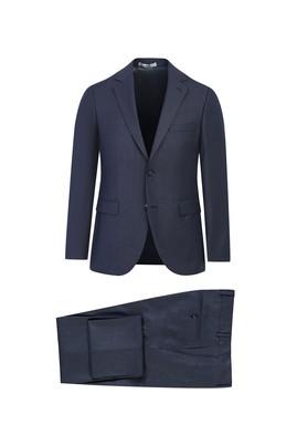 Erkek Giyim - MARENGO 48 Beden Slim Fit Desenli Takım Elbise