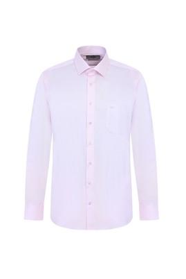 Erkek Giyim - TOZ PEMBE M Beden Uzun Kol Klasik Gömlek