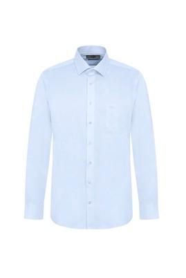 Erkek Giyim - UÇUK MAVİ XL Beden Uzun Kol Klasik Gömlek