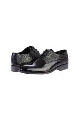 Erkek Giyim - SİYAH 40 Beden Rugan Ayakkabı