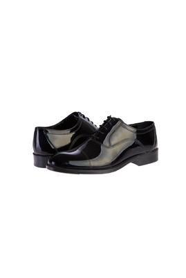Erkek Giyim - SİYAH 43 Beden Rugan Ayakkabı