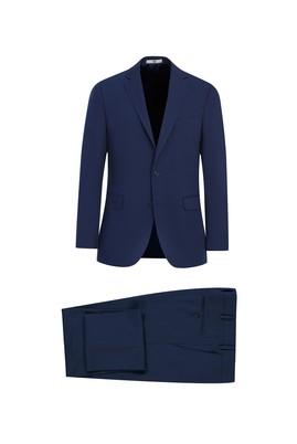 Erkek Giyim - AÇIK LACİVERT 56 Beden Klasik Takım Elbise