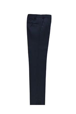 Erkek Giyim - KOYU LACİVERT 50 Beden Slim Fit Klasik Pantolon