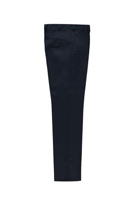 Erkek Giyim - KOYU MAVİ 52 Beden Kuşgözü Klasik Pantolon