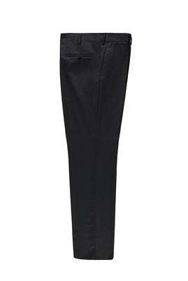 Erkek Giyim - SİYAH 48 Beden Kuşgözü Klasik Pantolon