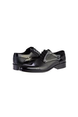Erkek Giyim - SİYAH 42 Beden Klasik Rugan Ayakkabı