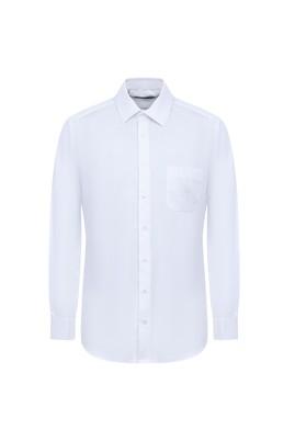 Erkek Giyim - BEYAZ M Beden Uzun Kol Klasik Gömlek