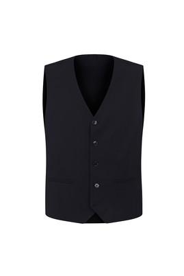 Erkek Giyim - SİYAH 46 Beden Klasik Yelek