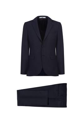 Erkek Giyim - KOYU BORDO 48 Beden Desenli Klasik Takım Elbise