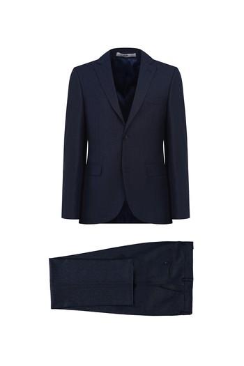 Erkek Giyim - Desenli Klasik Takım Elbise