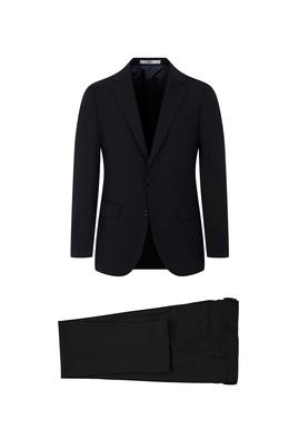 Erkek Giyim - SİYAH 54 Beden Yünlü Klasik Takım Elbise