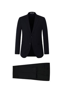 Erkek Giyim - SİYAH 44 Beden Slim Fit Takım Elbise