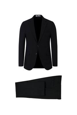 Erkek Giyim - SİYAH 52 Beden Klasik Takım Elbise