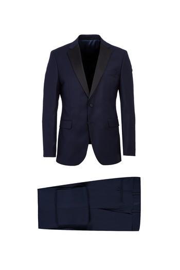 Erkek Giyim - Mono Yaka Slim Fit Smokin & Damatlık