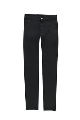Erkek Giyim - SİYAH 50 Beden Kuşgözü Slim Fit Spor Pantolon