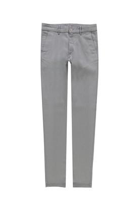 Erkek Giyim - AÇIK GRİ 48 Beden Kuşgözü Slim Fit Spor Pantolon