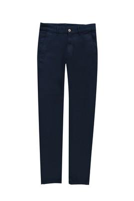 Erkek Giyim - AÇIK LACİVERT 48 Beden Kuşgözü Slim Fit Spor Pantolon