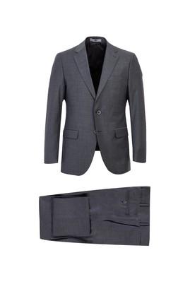Erkek Giyim - BULUT GRİ 62 Beden Klasik Yünlü Takım Elbise