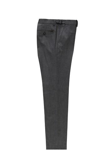 Erkek Giyim - Slim Fit Tokalı Pileli Klasik Pantolon