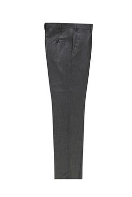 Erkek Giyim - ORTA GRİ 46 Beden Slim Fit Klasik Pantolon
