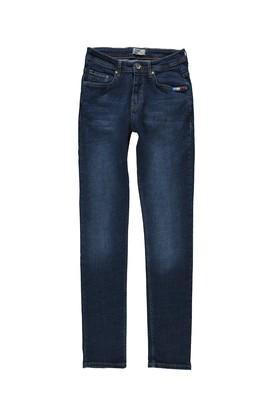 Erkek Giyim - KOYU MAVİ 48 Beden Slim Fit Spor Pantolon