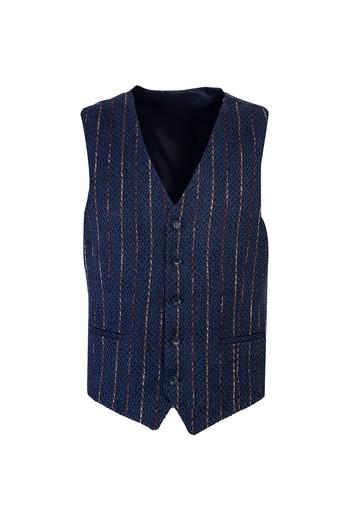 Erkek Giyim - Desenli Klasik Yelek