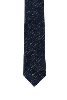 Erkek Giyim - KOYU MAVİ 165 Beden Desenli Kravat