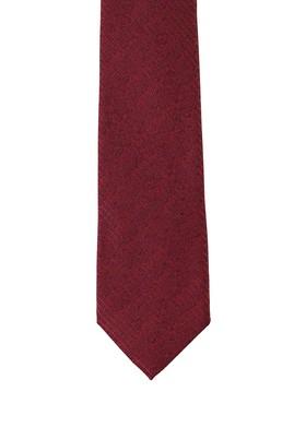 Erkek Giyim - MERCAN KIRMIZI 165 Beden Desenli Kravat