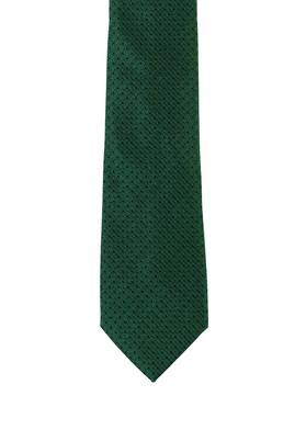 Erkek Giyim - ÇİMEN YEŞİLİ  Beden Desenli Kravat