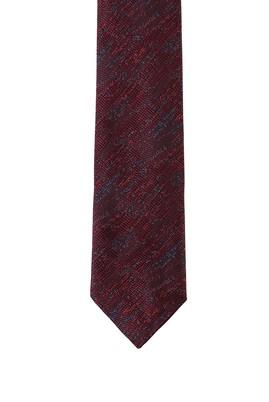 Erkek Giyim - AÇIK BORDO 165 Beden Desenli Kravat