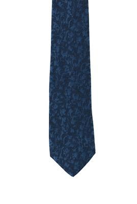 Erkek Giyim - MAVİ 165 Beden Desenli Kravat