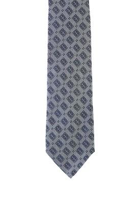 Erkek Giyim - KOYU LACİVERT  Beden Desenli Kravat