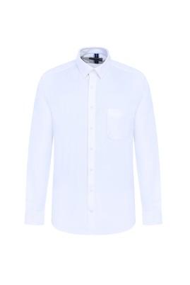 Erkek Giyim - BEYAZ M Beden Uzun Kol Oxford Klasik Gömlek