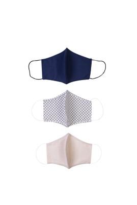 Erkek Giyim - ORTA BEJ  Beden Yıkanabilir 3'lü Yüz Maskesi