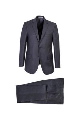 Erkek Giyim - BULUT GRİ 52 Beden Klasik Takım Elbise
