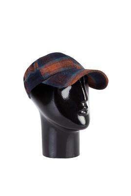 Erkek Giyim - KOYU YEŞİL  Beden Desenli Şapka