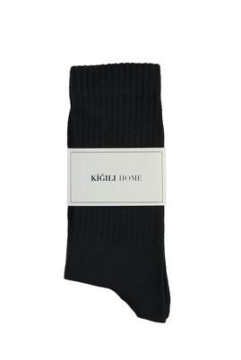 Erkek Giyim - SİYAH 40-44 Beden Spor Soket Çorap